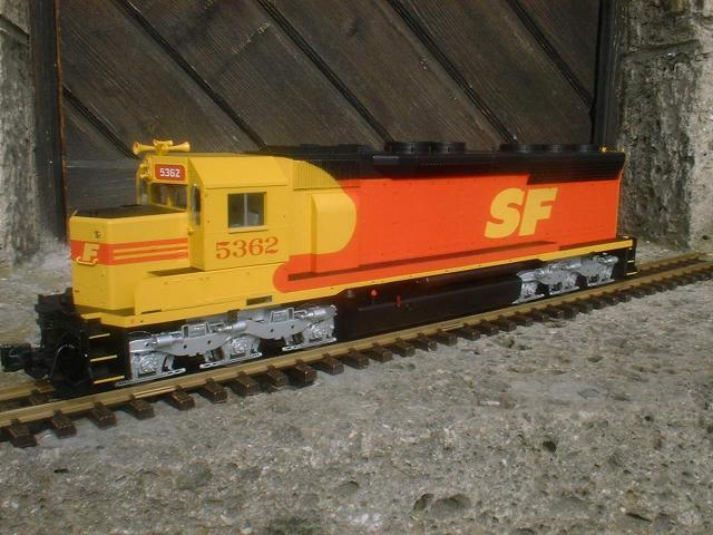 SD45 Santa Fe Kodachrome