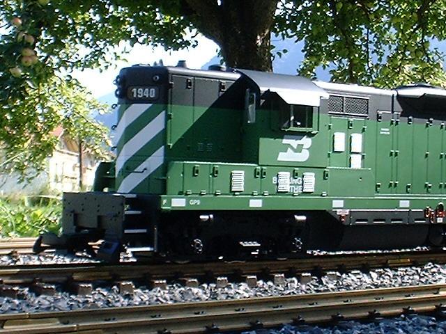 GP-9 Burlington Northern